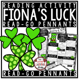Fiona's Luck Book Review Template Activity  • Teach- Go Pennants™