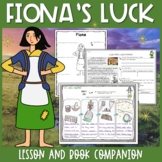 Fiona's Luck Lesson Plan and Book Companion - Distance Learning