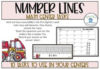 Fire Math Tasks