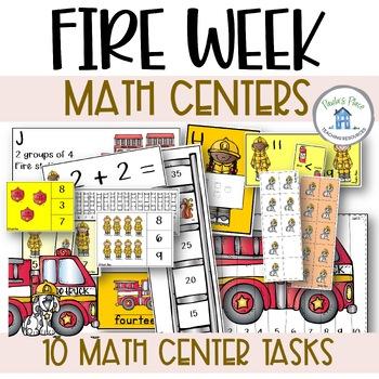 Fire – 10 Math Tasks (K-1)