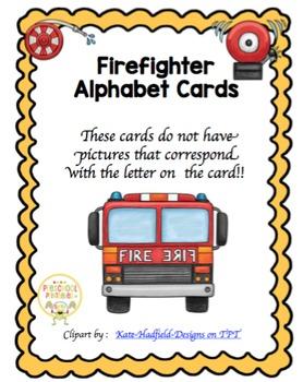 Fire Alphabet Cards