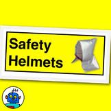 Fire And Earthquake Evacuation Safety Hood Sign