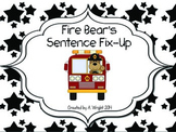 Fire Bear's Sentence Fix-Up