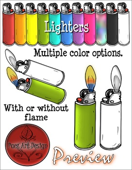 Fire {Clipart}- Build Your Own Fire: Ignition