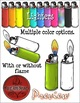 Fire CLIPART- Build Your Own Fire: Ignition {Paez Art Design}