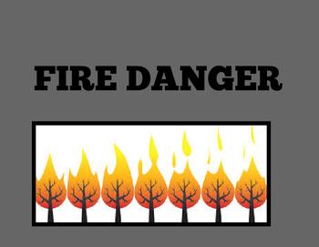 Fire Danger Consequence Chart part 1
