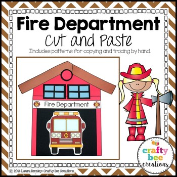 Fire Department Cut and Paste