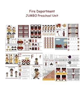 Fire Department JUMBO Preschool Unit