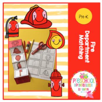 Fire Department Matching Craft