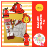 Fire Department Matching Craft