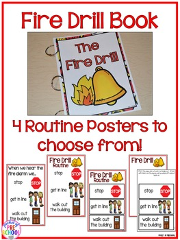 Fire Drill Routine, Book, & Posters