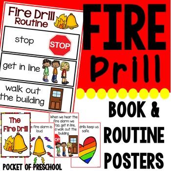 Fire safety booklet for kindergarten