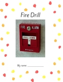 Fire Drill: A printable mini-book to read and illustrate!