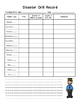 Fire Drill & Disaster Drill Record Form