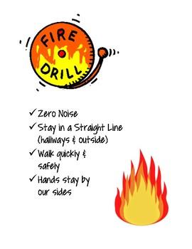 Fire Drill Mini Anchor