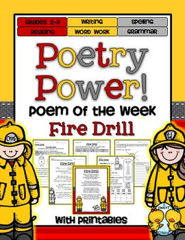 Poem of the Week: Fire Drill Poetry Power!
