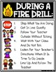 Fire Drill Safety Poster Student Directions