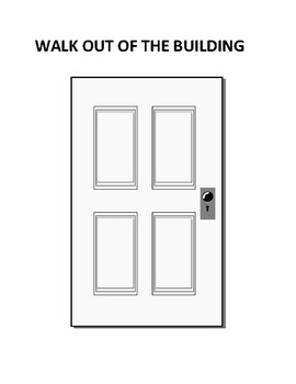 Fire Drill Signs