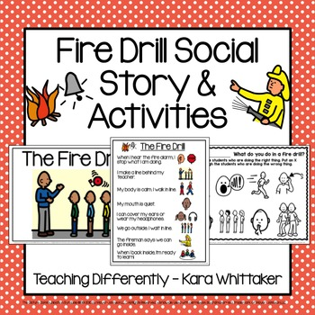 Fire Drill Social Story & Activities