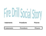 Fire Drill Social Story