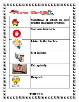 Fire drill checklist