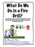 Fire Drill Visuals and Schedules * FREEBIE