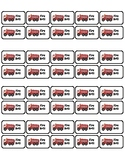 Fire Drill template for labels