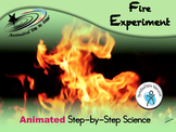 Fire Experiment - Animated Step-by-Step Science - SymbolStix