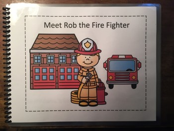 Fire Fighter Adaptive / Interactive Book