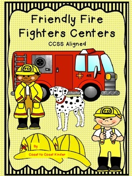 Fire Fighter-CCSS Aligned Centers & Activities