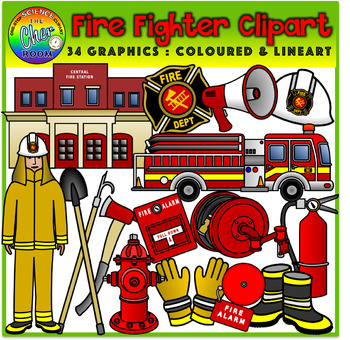 Fire Fighter Clipart