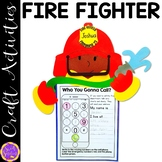 Fire Fighter Craft Activity