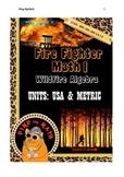 Fire Fighter Math 1: Wildfire Algebra