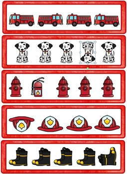 Fire Fighter Math and Writing Pack