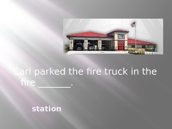 Fire Fighter!  Reading Street