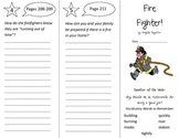 Fire Fighter Trifold - Reading Street 2nd Grade Unit 5 Week 1
