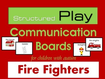 Free Fire Safety - Fire Fighters Structured Play Board for