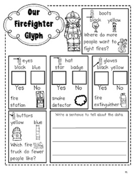 Fire Fighters - Literacy and Math Activities for the Common Core by Kim Adsit