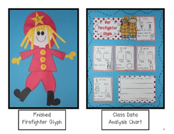 Fire Fighters - Literacy and Math Activities by Kim Adsit