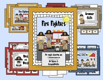 Fire Fighters- Reading Street, 2nd Grade, 2013