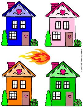 Fire Fire Burning Hot:  Community Helper, Firefighter, Colors