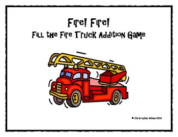 Fire! Fire! Fire truck addition game.
