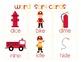 Fire! Fire! {Long Vowel i i_e} Word Work