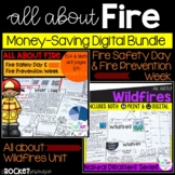Fire, Fire Safety, Wildfires, Fire Prevention Week BUNDLE