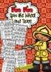 Fire Fire Word Work - Spin and Trace (Fire Safety Vocabulary Work)