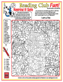 Fire Hydrant Color-In Puzzle