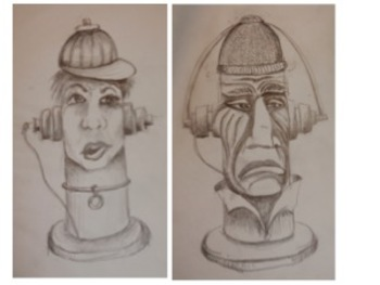 Fire Hydrant Faces - One Day Project!