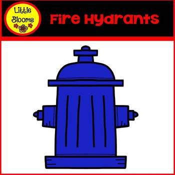 Fire Hydrants Clip Art