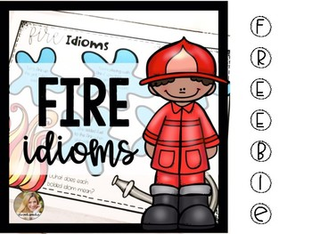 Fire Idioms | Fire Safety Activities