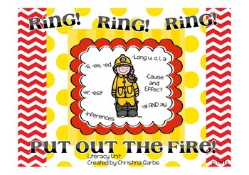 Fire - Long Vowels and Other Literacy Activities